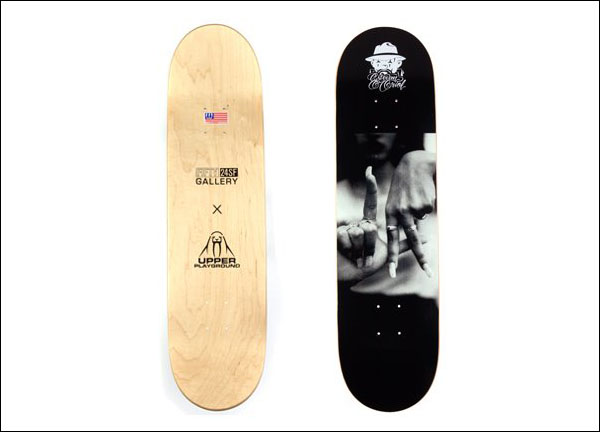 Upper Playground x Estevan Oriol Deck